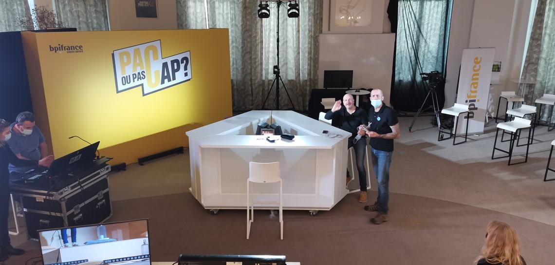 location mobilier plateau TV, webTV