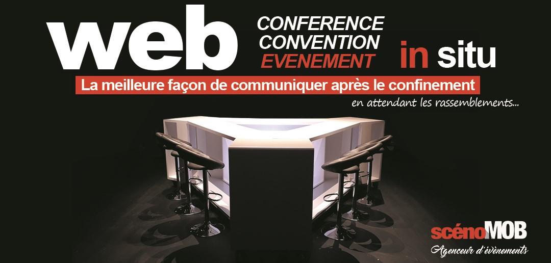 emission TV interne, webTV, plateauTV, live stream, scenomob