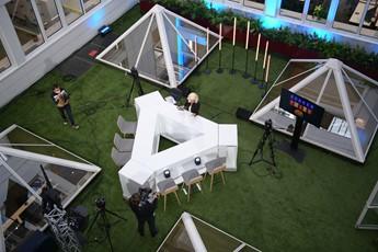 plateau TV Soixante-six, location mobilier pour émission TV, location mobilier pour WebTV, scenomob