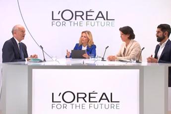Plateau TV à la location pour conférence de presse l'Oréal